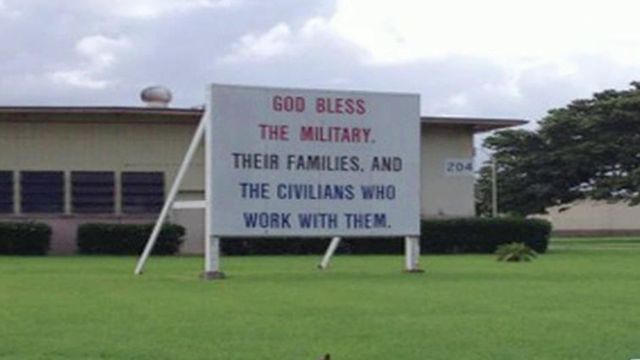 god bless the military