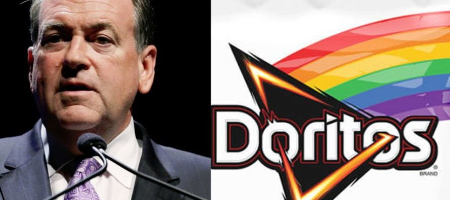 Huckabee Warns Frito-Lay About Rainbow Doritos Campaign: Christians Will Boycott if You Don't Apologize!