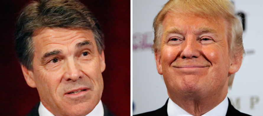 What? Perry's Weird Response to Trump: 'A broken clock is right once a day'
