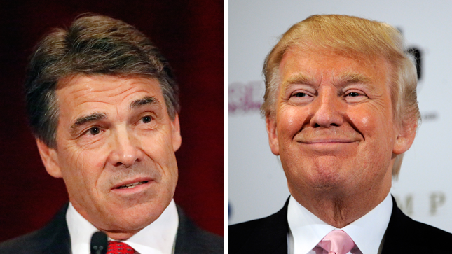 Rick Perry Donald Trump