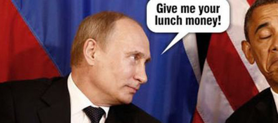 Putin vs. Obama Perfectly Compared in 10 BRUTAL Pictures