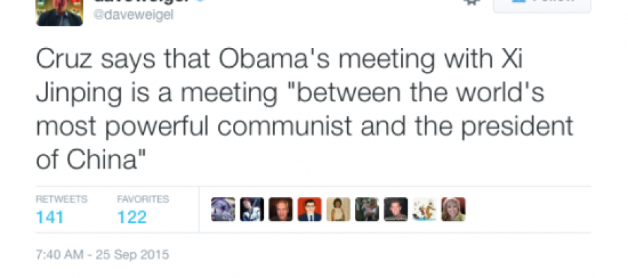 "Ted Cruz: Meeting Between Obama And Xi Jinping Is Meeting ""Between World's Most Powerful Communist And…."