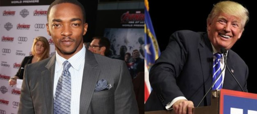 Black Actor Anthony Mackie is Endorsing TRUMP: He Worked His Way Up From Nothing