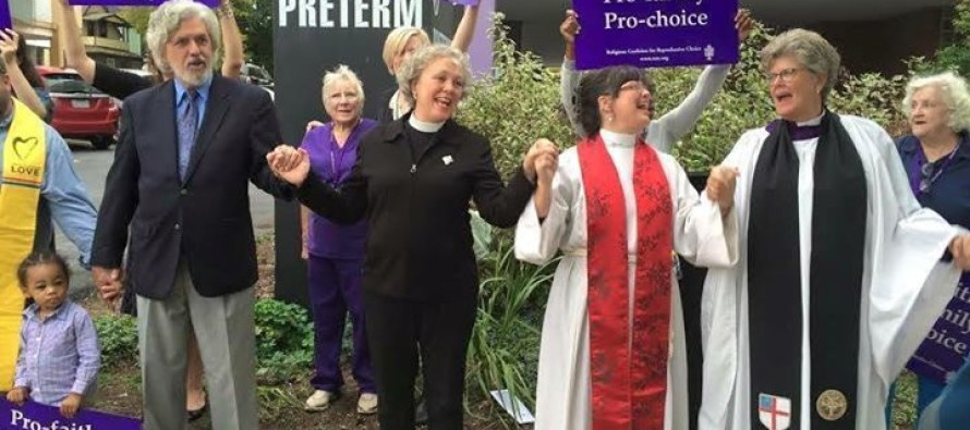 Christian Ministers Congregate Outside Ohio Abortion Clinic to Do Something BIZARRE  That Has Reportedly Never Been Done Before