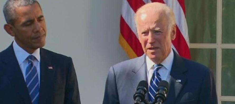 Joe Biden: I'm Not Running For President, BUT…