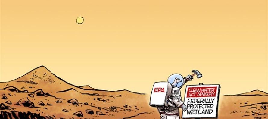 Water on Mars (Cartoon)