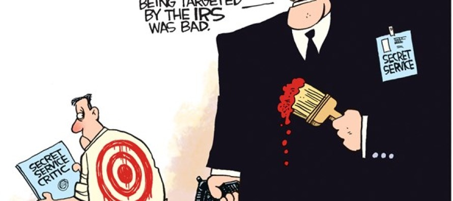 Secret Service Target (Cartoon)