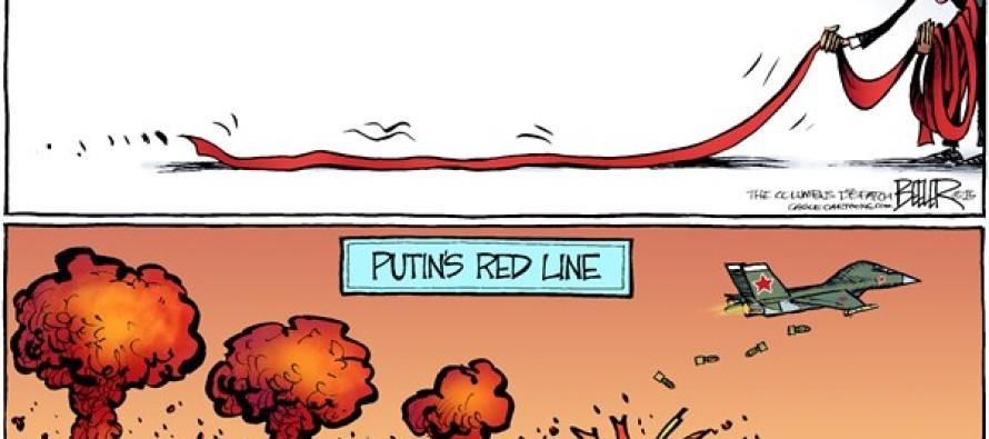 Lines in Syria (Cartoon)