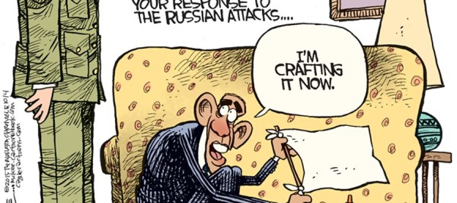 Obama Syrian Response (Cartoon)