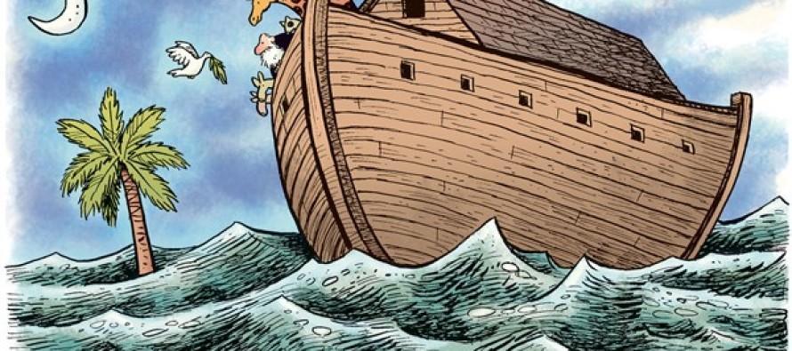 South Carolina Rains (Cartoon)
