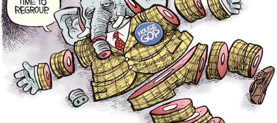 GOP Regroup (Cartoon)