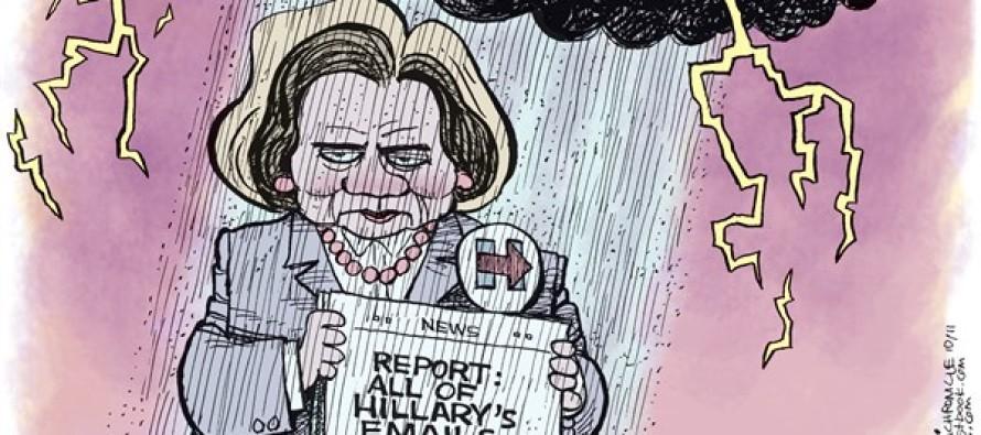Hillary Cloud (Cartoon)