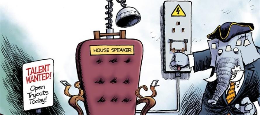 The Speaker Chair (Cartoon)