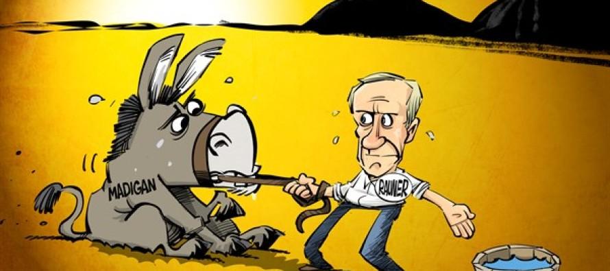 ILLINOIS Budget Compromise (Cartoon)