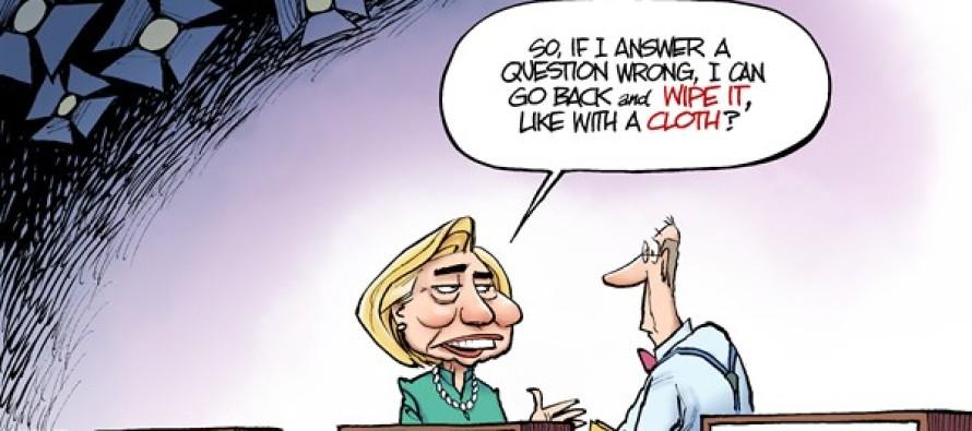 Hillary Debate Prep (Cartoon)
