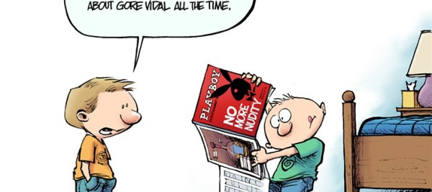 The New Playboy (Cartoon)