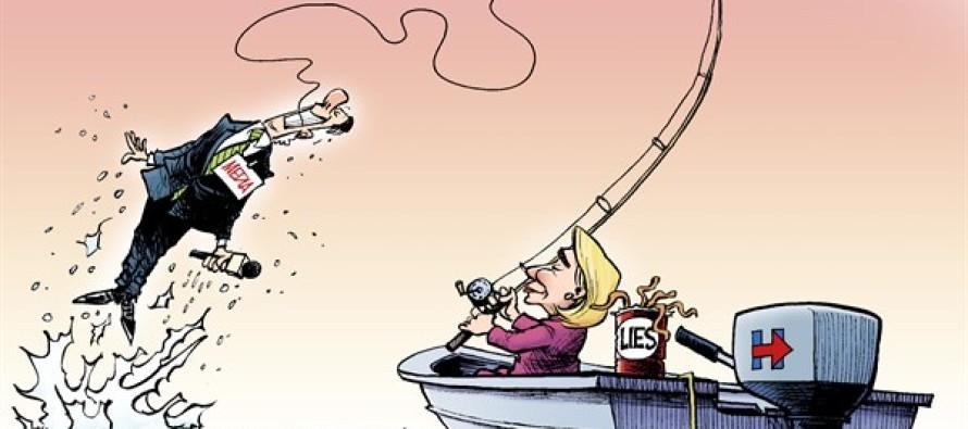 Clinton Catch (Cartoon)