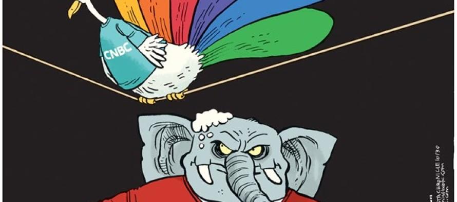 CNBC Gop Debate (Cartoon)