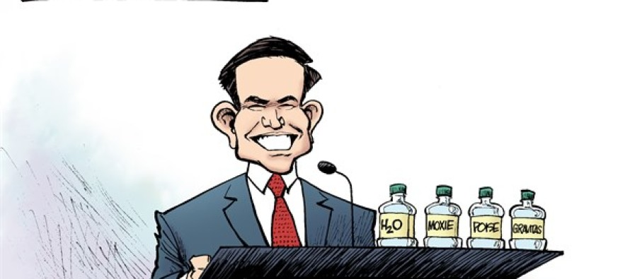 Rubio Refreshment (Cartoon)