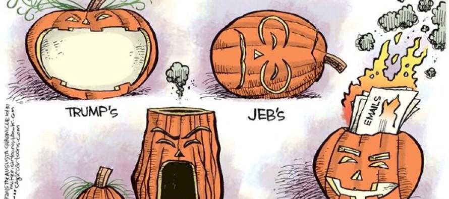 Candidate Jack o' Lanterns (Cartoon)