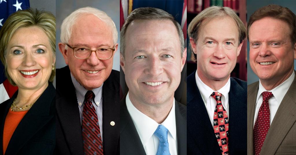5-Dem-Candidates