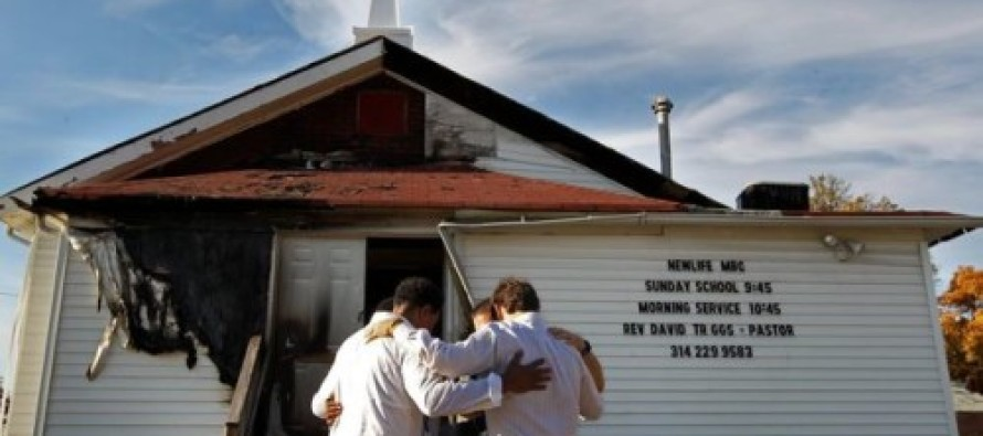 Black St. Louis Man Arrested For Burning 6 Black Churches and 1 White Church