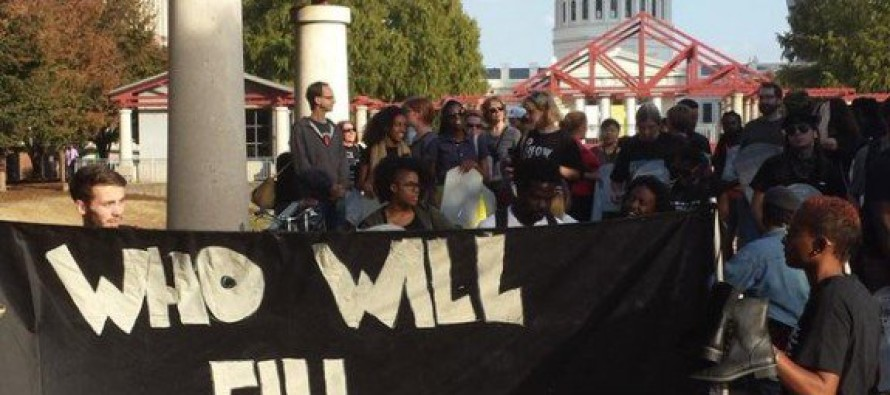#BlackLivesMatter/Young Communists Protest in St. Louis & Chant Death Threats to Cops [Video]