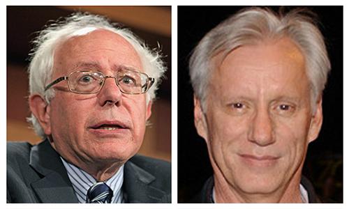 Bernie-Sanders-James-Woods-Side-By-Side
