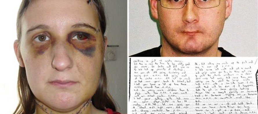 Woman Who Had Her Throat Slit By Ex Faces JAIL if She Doesn't Write Him Letters While He's Incarcerated
