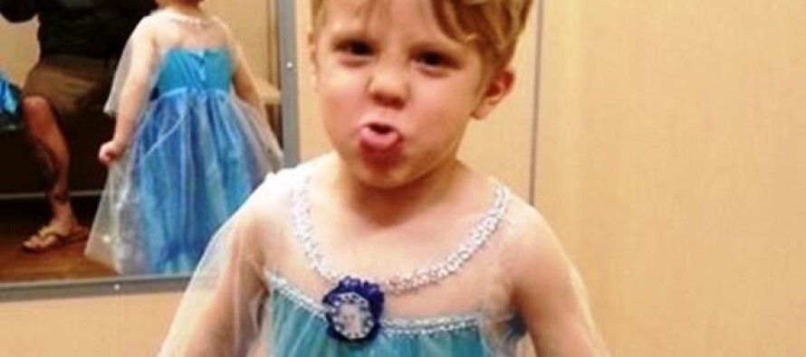 """Father of """"Princess Boy"""" Says Keep Your """"Masculine Bullsh*t"""""""