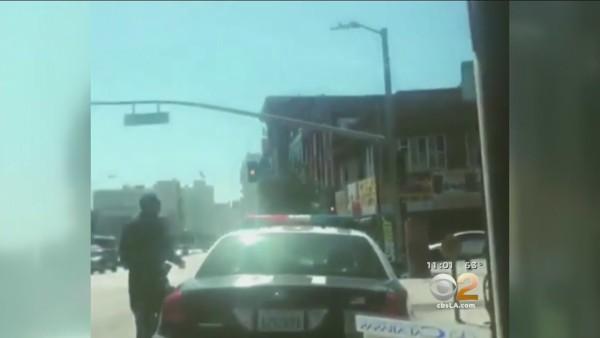 Cops Stalked