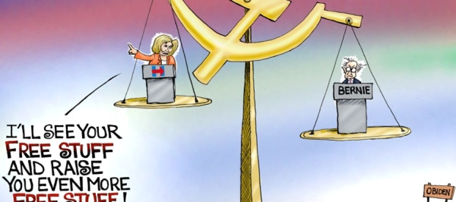 Democrat Debate (Cartoon)