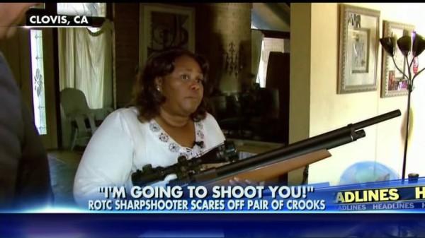 Female Sharpshooter