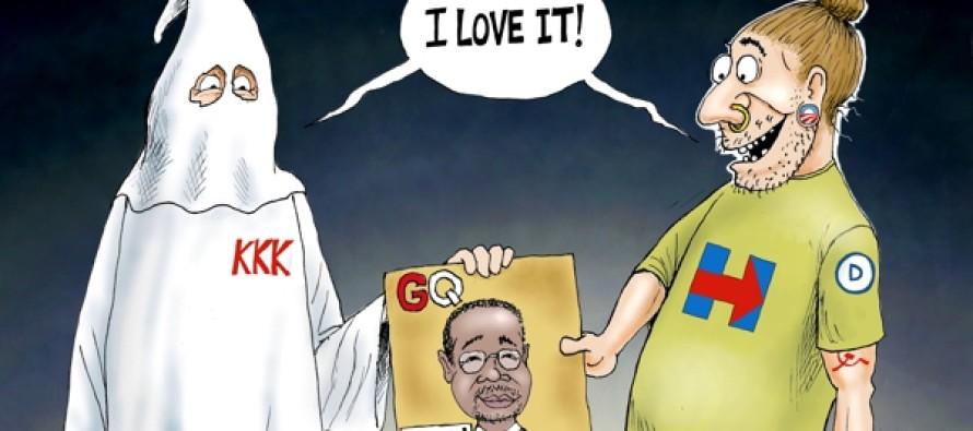 Ben Carson enemies (Cartoon)