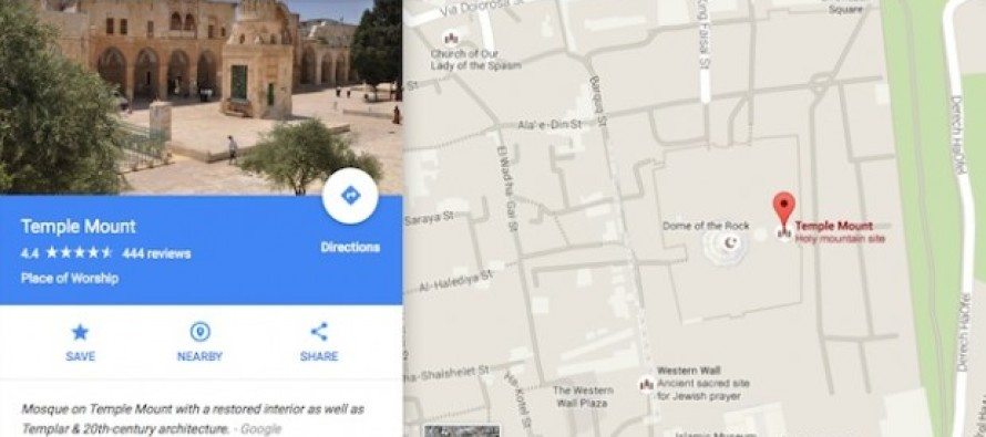 SHOCK: Guess What Comes Up When You Google Map Search for 'Death To The Jews'?