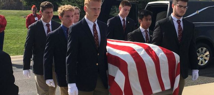 High School Students Served As Pallbearers For Homeless Vets Without Loved Ones