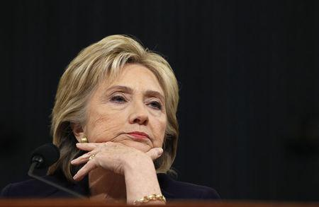 Hillary Clinton listens to a question as she testifies before the House Select Committee on Benghazi, on Capitol Hill in Washington October 22, 2015. REUTERS/Jonathan Ernst