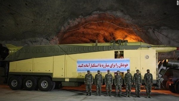 Iranian Missile Tunnels1