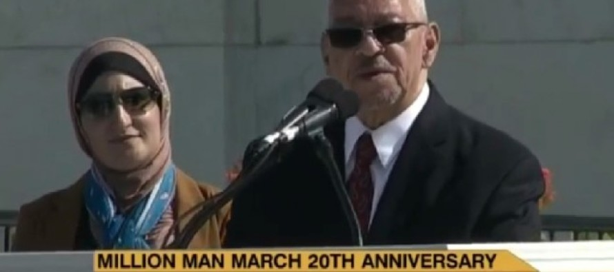 Obama's Former Pastor at Million Man March: Jesus was a Palestinian [Video]