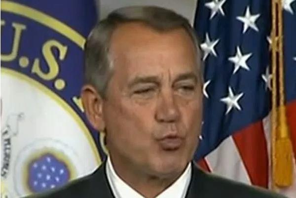 John Boehner Kissoff