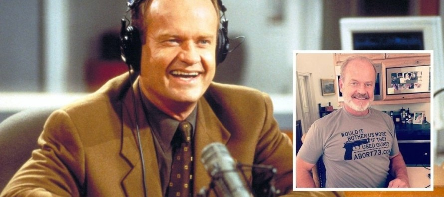 EPIC T-Shirt: Kelsey Grammer Comes out as Pro-Life