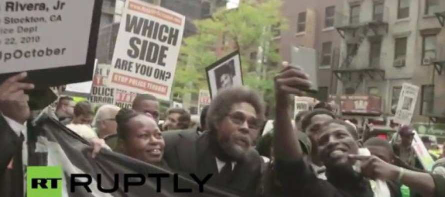 "Hundreds Chant ""F*ck the Police!"" and March for #RiseUpOctober in New York City [Video]"