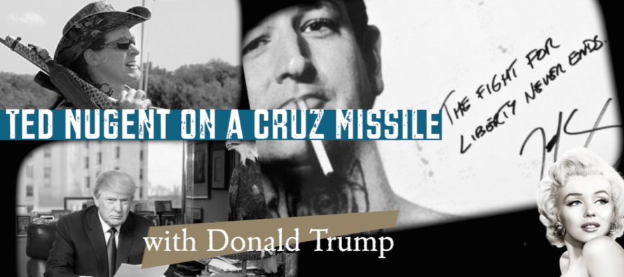 Ted Nugent on a Cruz Missile with Donald Trump – Intellectual Froglegs