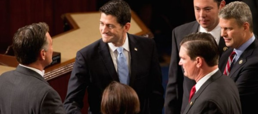 The Fix Was In: In Harsh Blow to Conservatives, Paul Ryan is Formally Elected House Speaker