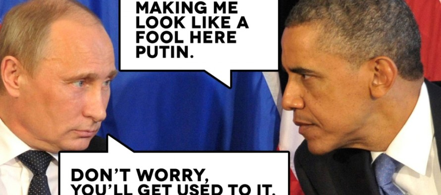 BOOM: Putin SLAPS Obama With 1-Sentence Smackdown That Shows Who the REAL Leader Is