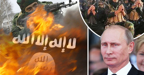 The end of ISIS? Putin 'sending 150,000 soldiers to Syria to WIPE OUT evil Islamic State'