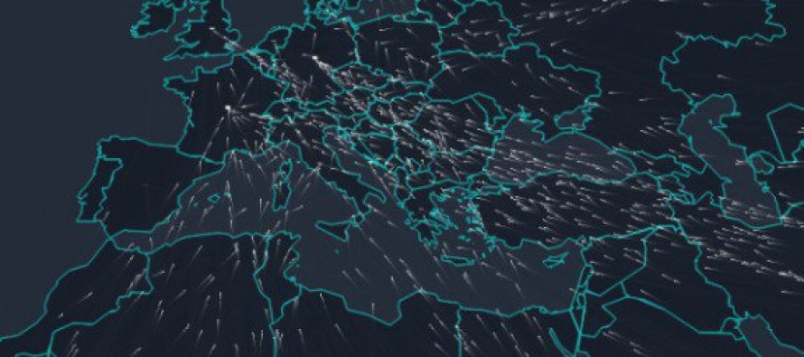 Alarming Interactive Map Illustrates the Invasion of Refugees Pouring Into Europe [Video]