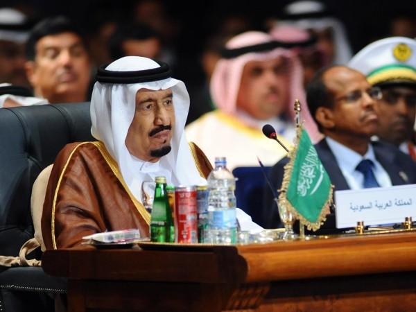 King Salman bin Abdulaziz al-Saud at the Arab League summit in Sharm el-Sheikh in Egypt in March. He took over the Saudi throne in January Getty