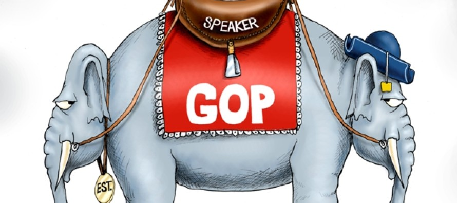 GOP Speaker Position (Cartoon)