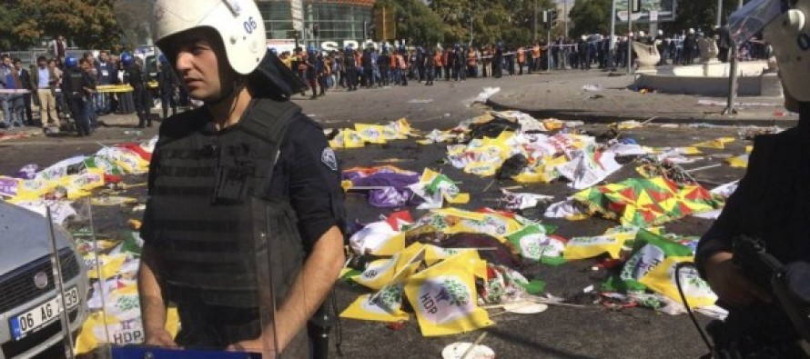 Peace Rally in Turkey Turns Deadly… Bomb Blasts Rip Through Crowds, Killing 86, Wounding 186